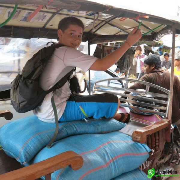 Cambodia Going for a ride