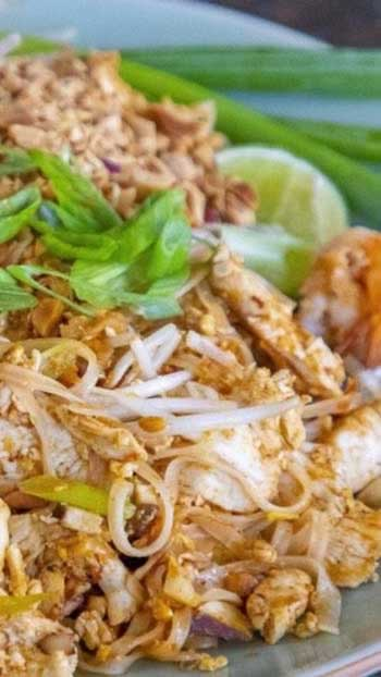 Live Cooking Pad Thai Class from Chiang Mai, Thailand!